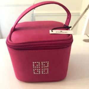 COPY - Auth NWT Givenchy Pink💗cosmetic tote w rhi…